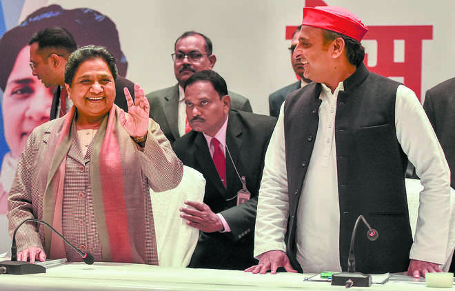 SP, BSP announce tie-up for Lok Sabha polls, to contest 38 seats each in UP