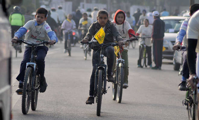A cycle hub, city sans cycling infra