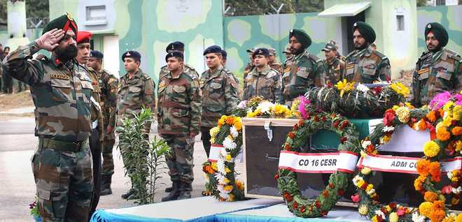 Army pays tributes to Major Nair