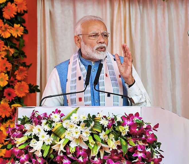 Conspiracy to oust me as I stopped the siphoning of Rs 90,000 crore: PM Modi
