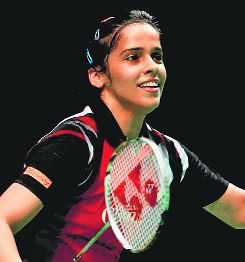 Saina tames Okuhara, enters semis