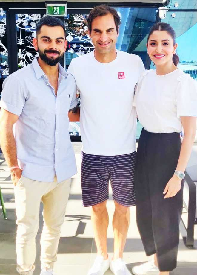 Kohli Meets Roger Federer Finishes Australian Summer In Style