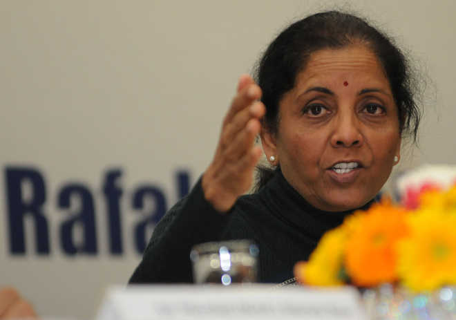 Rafale: Can't become pawns in corporate warfare, Sitharaman says to Oppn