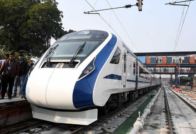 Train18 ready for launch: Railway officials
