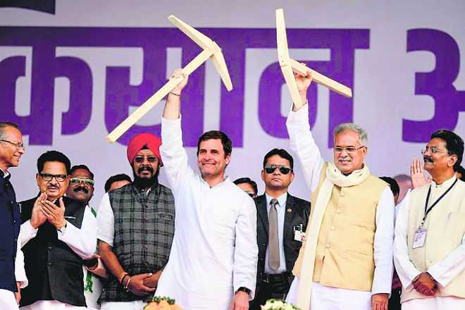 Rahul vows minimum income for poor