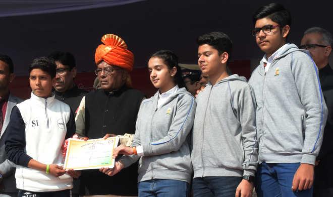 Students honoured