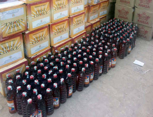 52 cases of smuggled liquor seized in Mohali