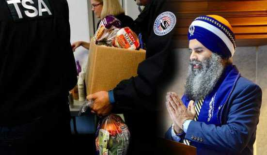 Sikhs in US distribute gift cards, hot-Indian food to security staff