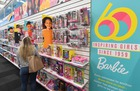 Barbie dolls are displayed at a workshop in the Mattel design center as the iconic doll turns 60, in El Segundo, on December 7, 2018. — AFP