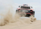 Dakar Rally - 2019 Peru Dakar Rally - First stage from Lima to Pisco, Peru - January 7, 2019 X-Raid Mini JCWs driver Stephane Peterhansel and co-driver David Castera in action during the race. — Reuters