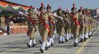 NCC cadets participate in a parade at the 70th Republic Day celebrations at Parade Ground, Sector 5, Panchkula, on January 26, 2019. Tribune photo: Ravi Kumar
