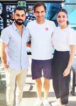 Kohli meets Roger Federer, finishes Australian summer in style