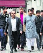 BJP demands action against AAP