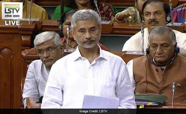 India's stand clear on Kashmir, won't accept third-party mediation: Jaishankar