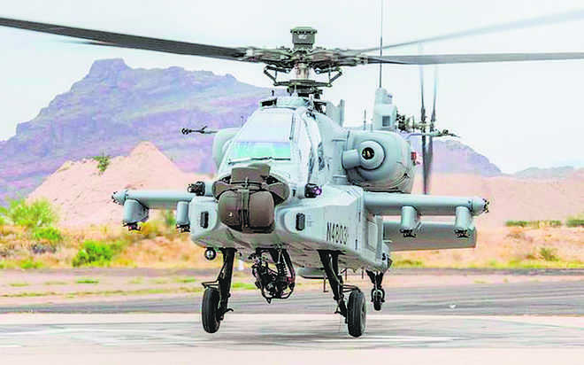Chinook, Apache to debut on Air Force Day