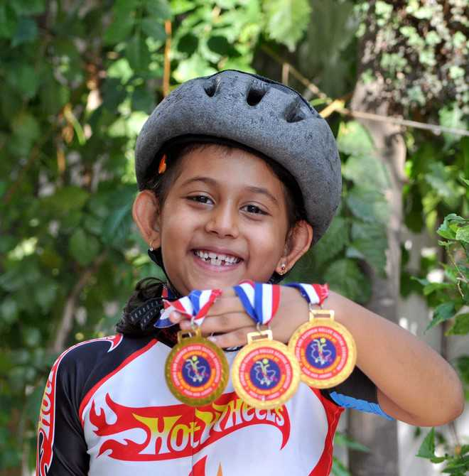 Adhira selected for national skating championship
