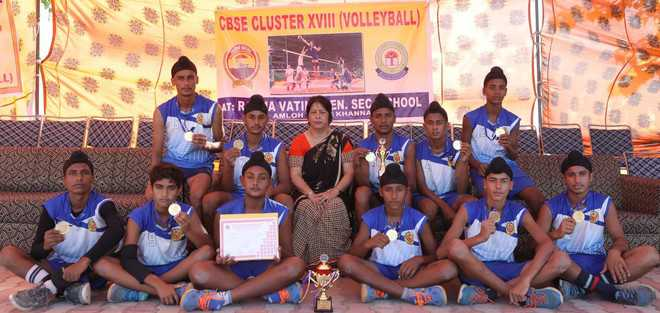 18th CBSE volleyball tourney