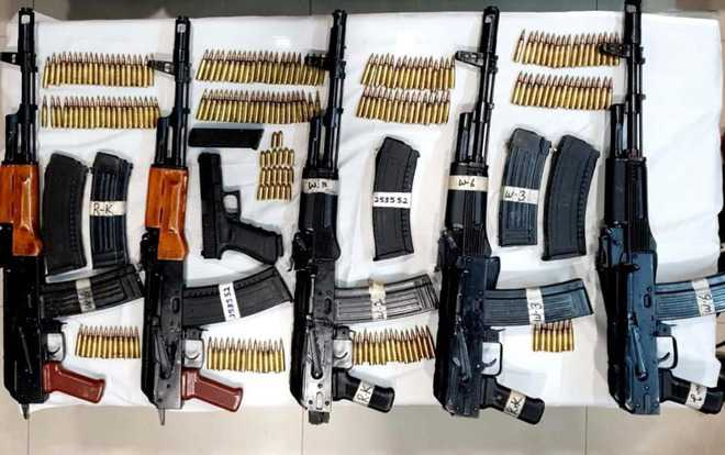 Spurt in weapon smuggling has security agencies on toes