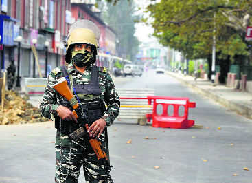 J&K mobile services 'within a day or two'