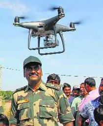 Pak drone ventures 1 km into Ferozepur
