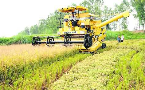 Ban on harvesting combines sans straw mgmt system to curb stubble-burning
