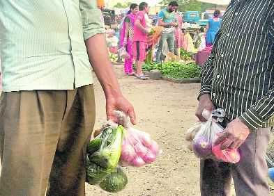 Govt cracks whip, seizes 100-quintal polybags in a month