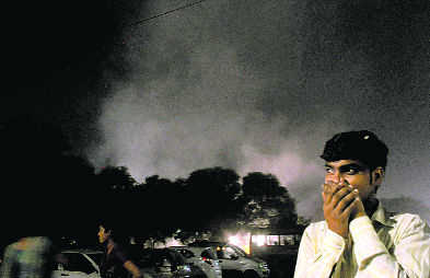 Air quality in the city takes a hit