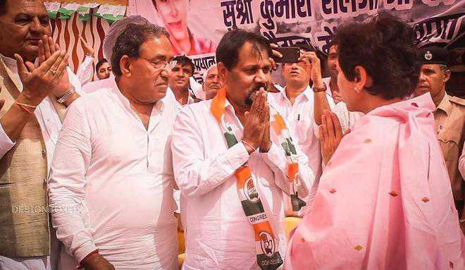 Setback for INLD as Sirsa ex-MP Rori joins Congress