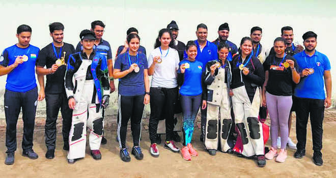 DAV shooters strike gold, silver for SGGS