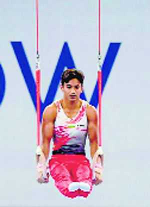 Indian men disappoint at World Gymnastics