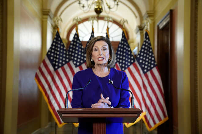 Trump is trying to make lawlessness a virtue, says Speaker Pelosi