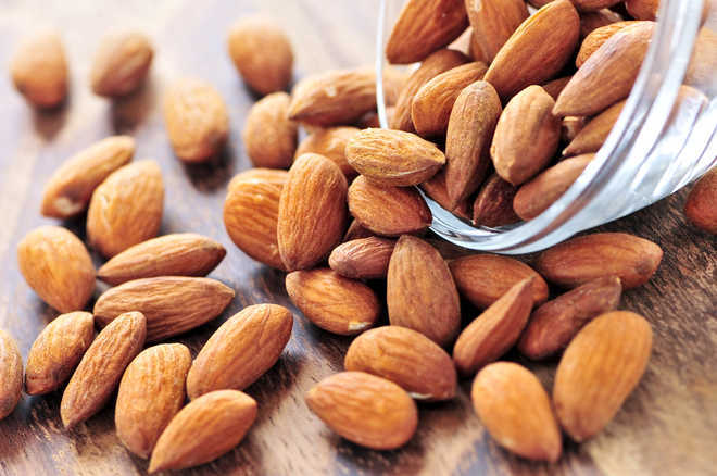 Daily almond consumption may help reduce facial wrinkles
