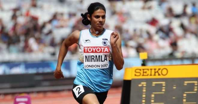 Sprinter Nirmala Sheoran banned for 4 years, stripped of Asian titles