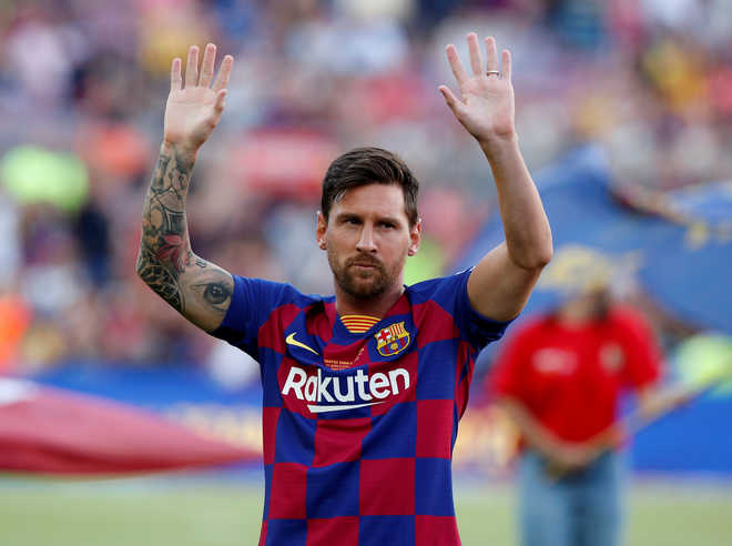 Messi says tax problems made him want to leave Barcelona