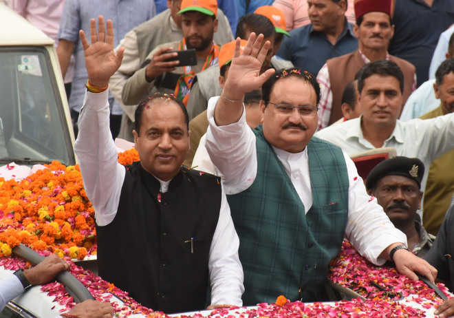 Nadda: Except BJP, all parties promoting dynastic politics