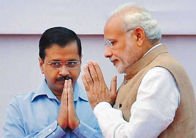 A tamed Kejriwal makes peace with Modi