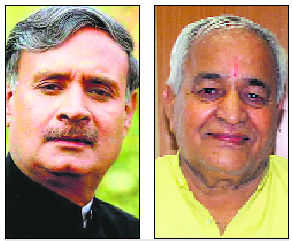 Rao Inderjit, BJP rebel enter into war of words