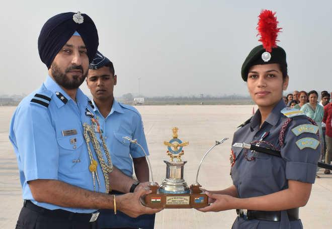 NCC cadet honoured