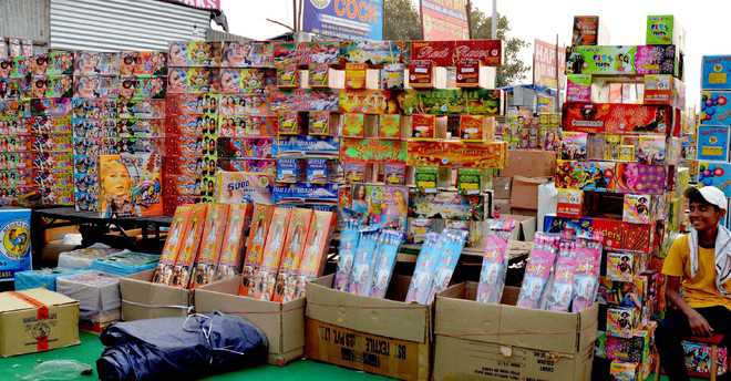 37 shops to be allotted for selling firecrackers