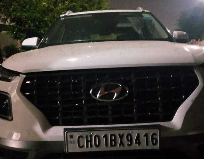 Chased, Gen's grandson hits PCR vehicle, arrested