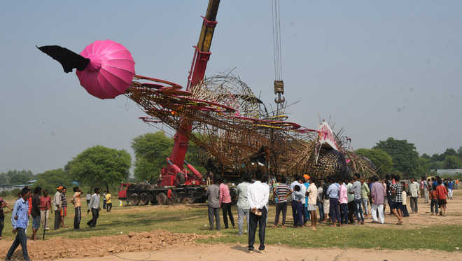 Is spending lakhs on Ravana effigy worth it?