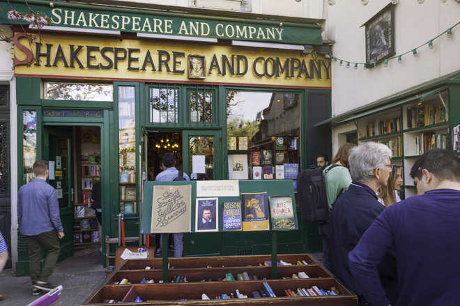 In Paris, a bookstore of stories