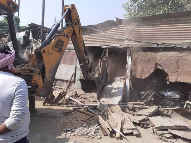 MC removes encroachments to realise Smart City dream