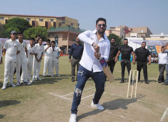 Yuvraj Singh keen on giving back to society