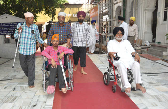 'Obstacles' abound for disabled at Golden Temple