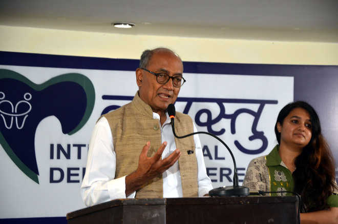 Rahul Gandhi should not have resigned, says Digvijay