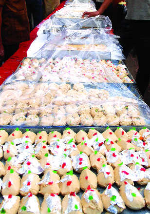 Act in advance against adulteration of sweets