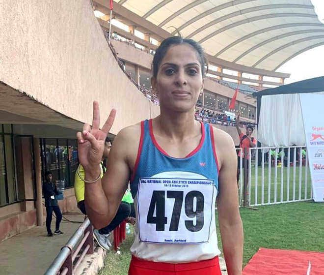 Constable Veerpal Kaur does state proud, again