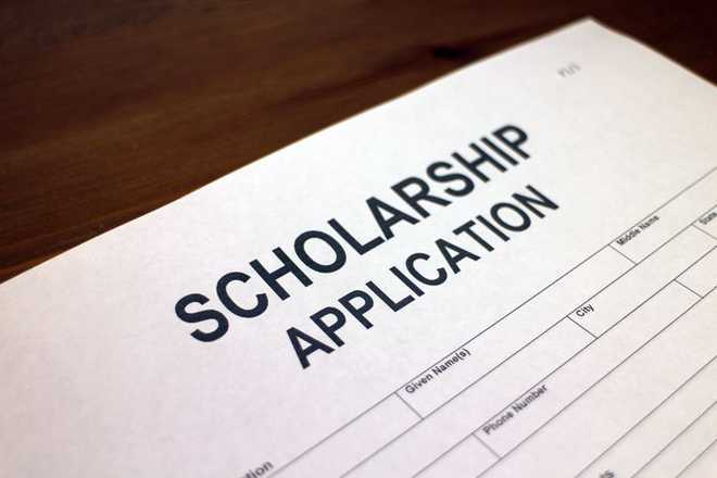 Students get scholarships