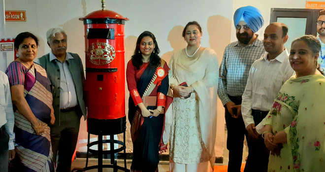 Philately exhibition on Mahatma Gandhi